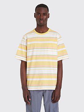 Très Bien Volume T-shirt Stripe Lime