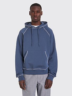 Très Bien Hooded Raglan Sweatshirt Orion Blue