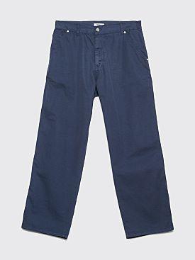 Très Bien Carpenter Twill Pants Orion Blue