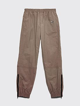 Très Bien Warm Up Pants Dry Nylon Mud Brown