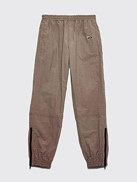 Très Bien Warm Up Pants Dry Nylon Mud Brown