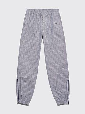 Très Bien Warm Up Pants Small Checks Grey / Blue