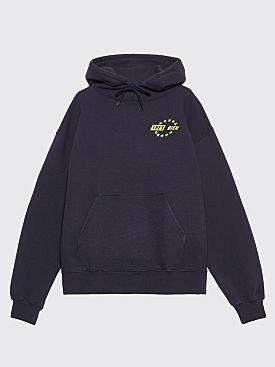 Très Bien Souvenir Star Logo Hood Navy