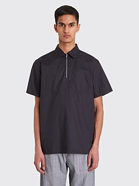 Très Bien Camp Shirt Dark Navy