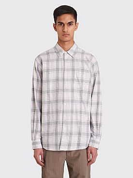 Très Bien Classic Shirt Summer Flannel Pink Dogwood Check
