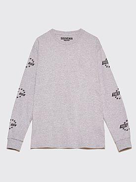 Très Bien Souvenir LS T-Shirt Eurosport Sport Grey