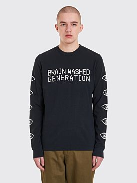 Undercover Brain Washed Generation LS T-Shirt Black