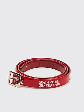 Undercover Brain Washed Generation Belt Red