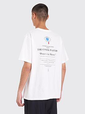 Undercover Cosmik Waters T-Shirt White