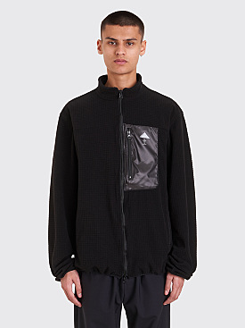 Undercover Pyramid Fleece Jacket Black