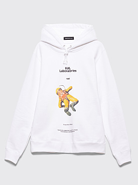 Undercover Hal Laboratories Hooded Sweatshirt White