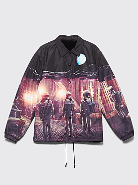 Undercover A Space Odyssey Coach Jacket Black