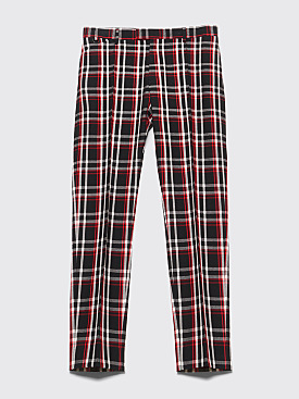 Undercover Wool Pants Checkered Black / Red