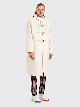 Undercover Disorder Duffle Coat White