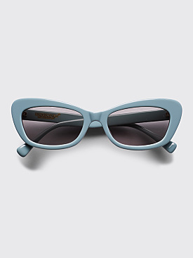 Undercover Cat Eye Sunglasses Blue Grey
