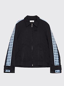 Wales Bonner Classic Zip Jacket Black / Blue
