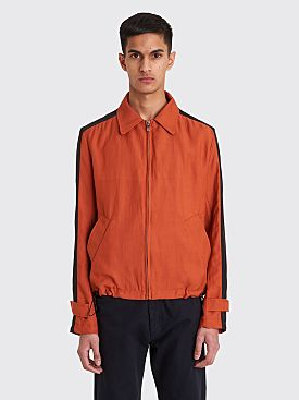 Wales Bonner Zip Blouson Jacket Rust / Black
