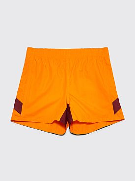 Wales Bonner Football Shorts Marigold