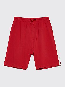 Y-3 3 Stripes Shorts Chili Pepper Red