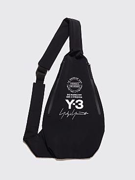 Y-3 Yohji Messenger Bag Black
