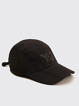 Y-3 Foldable Cap Black