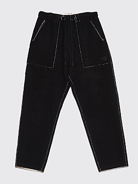 Y-3 Double Face Pants Black