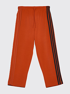 Y-3 Three Stripes Wide Pants Orange