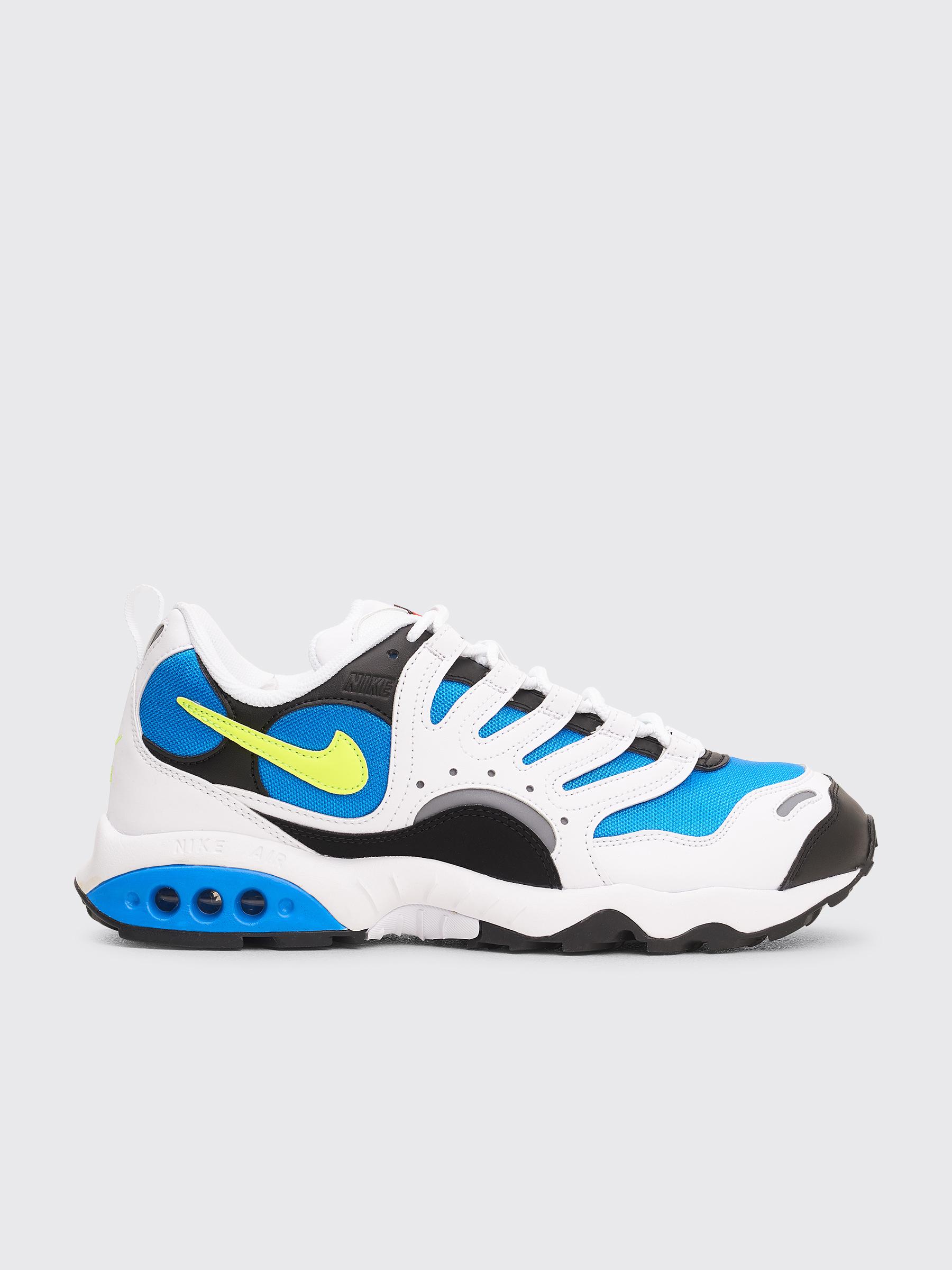 finest selection 0c89e db332 Très Bien - Nike Air Terra Humara  18 White   Volt   Photo Blue