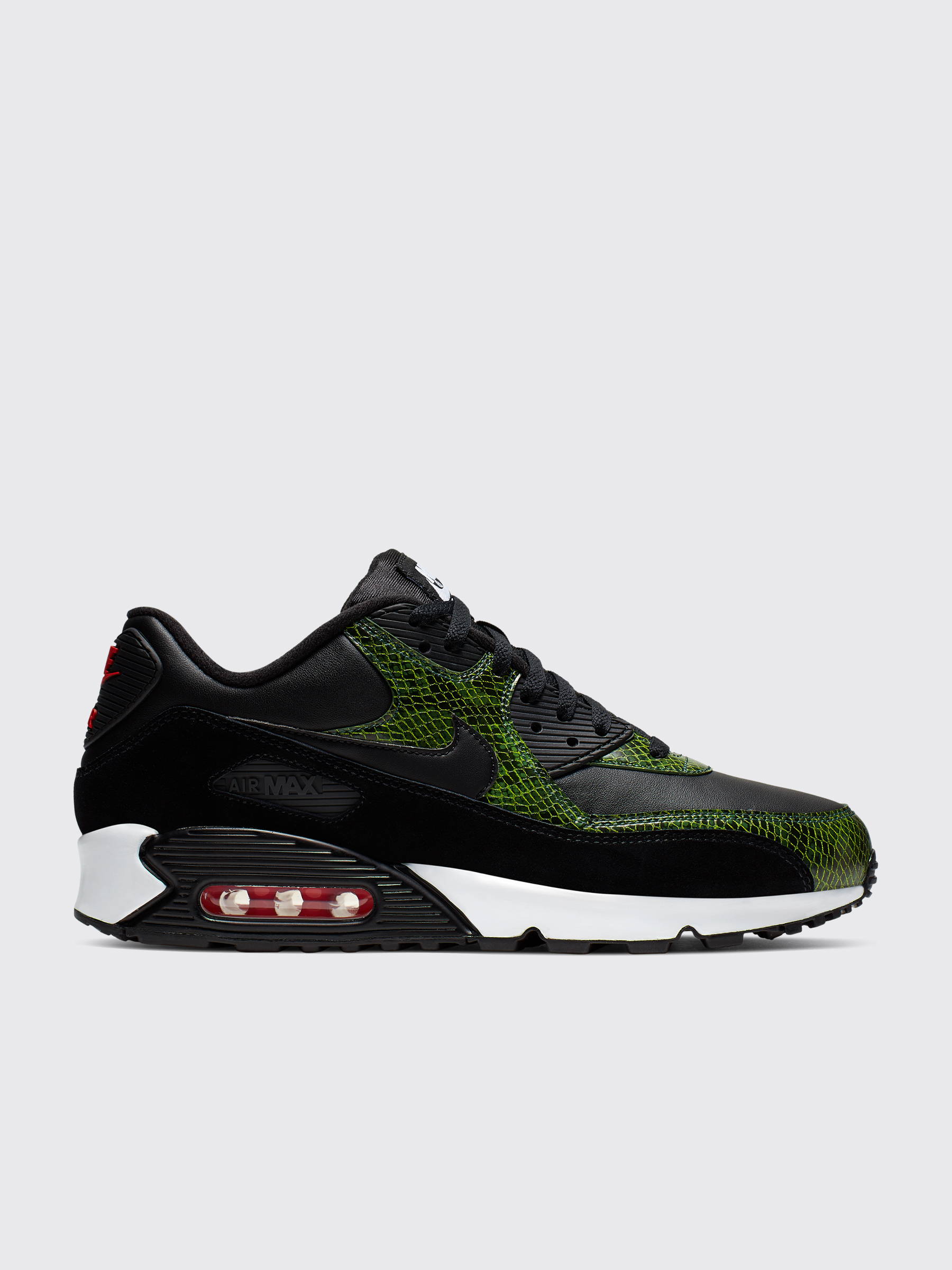 timeless design 89c9d 5e37c Nike Air Max 90 QS Black / Green