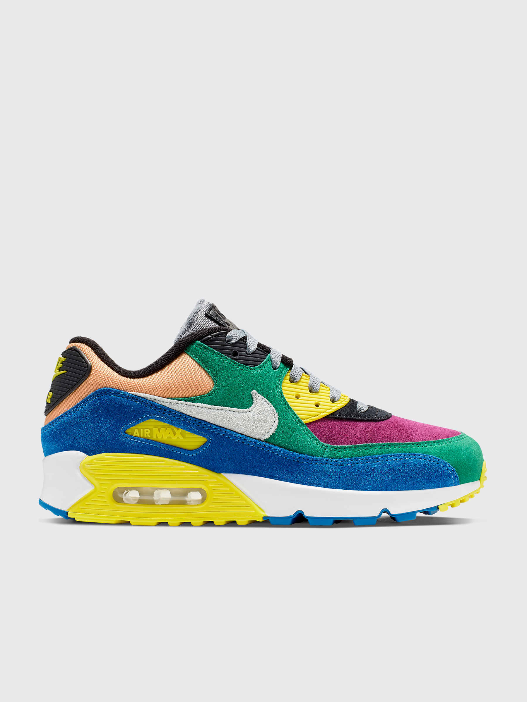 best website fc906 8a378 Nike Air Max 90 QS Lucid Green / Barely Grey