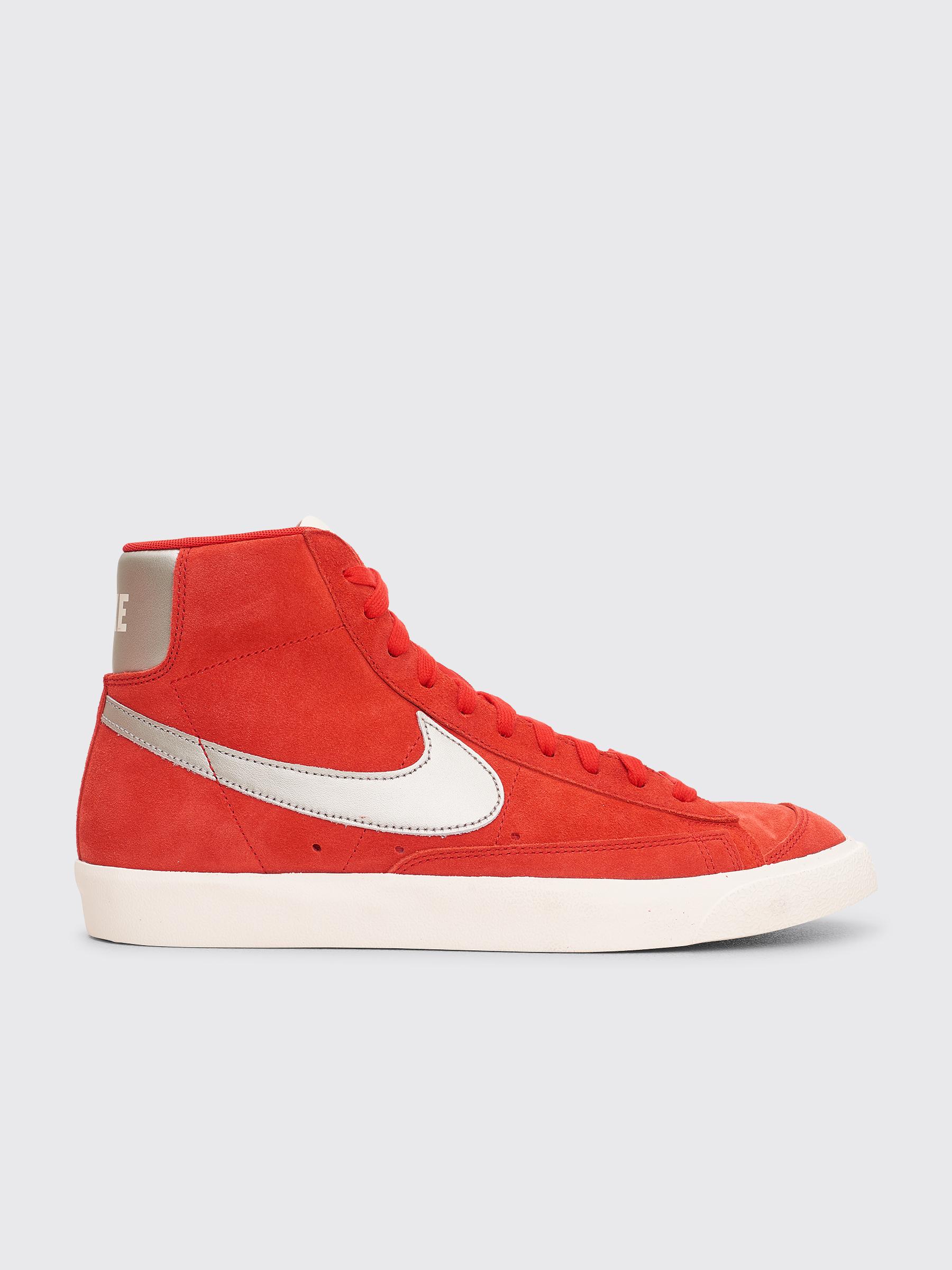 Nike Blazer '77 Shoes University Red Metallic Silver