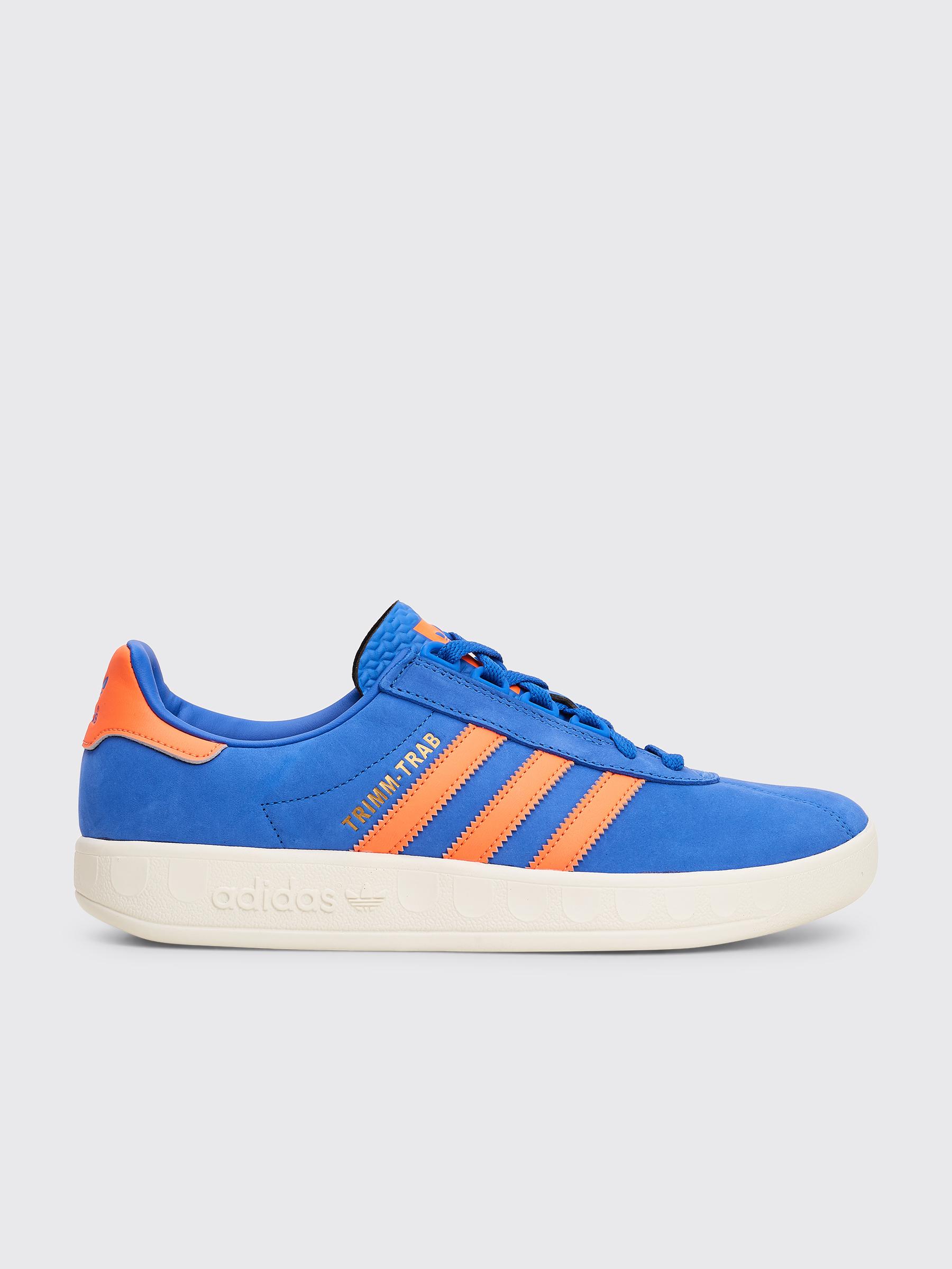 adidas sneakers blue orange