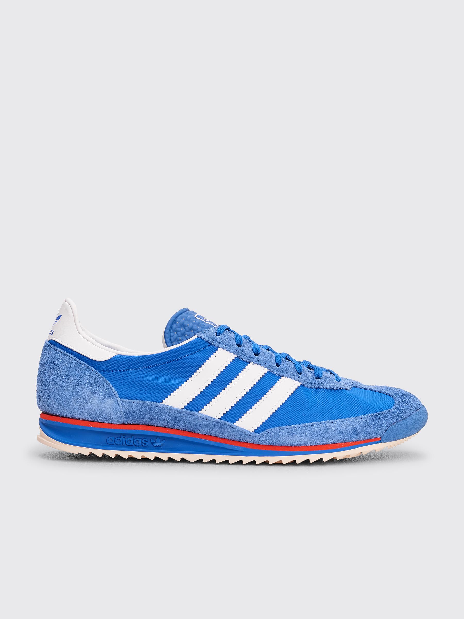 adidas Originals SL 72: GreenOrange   Adidas sneakers