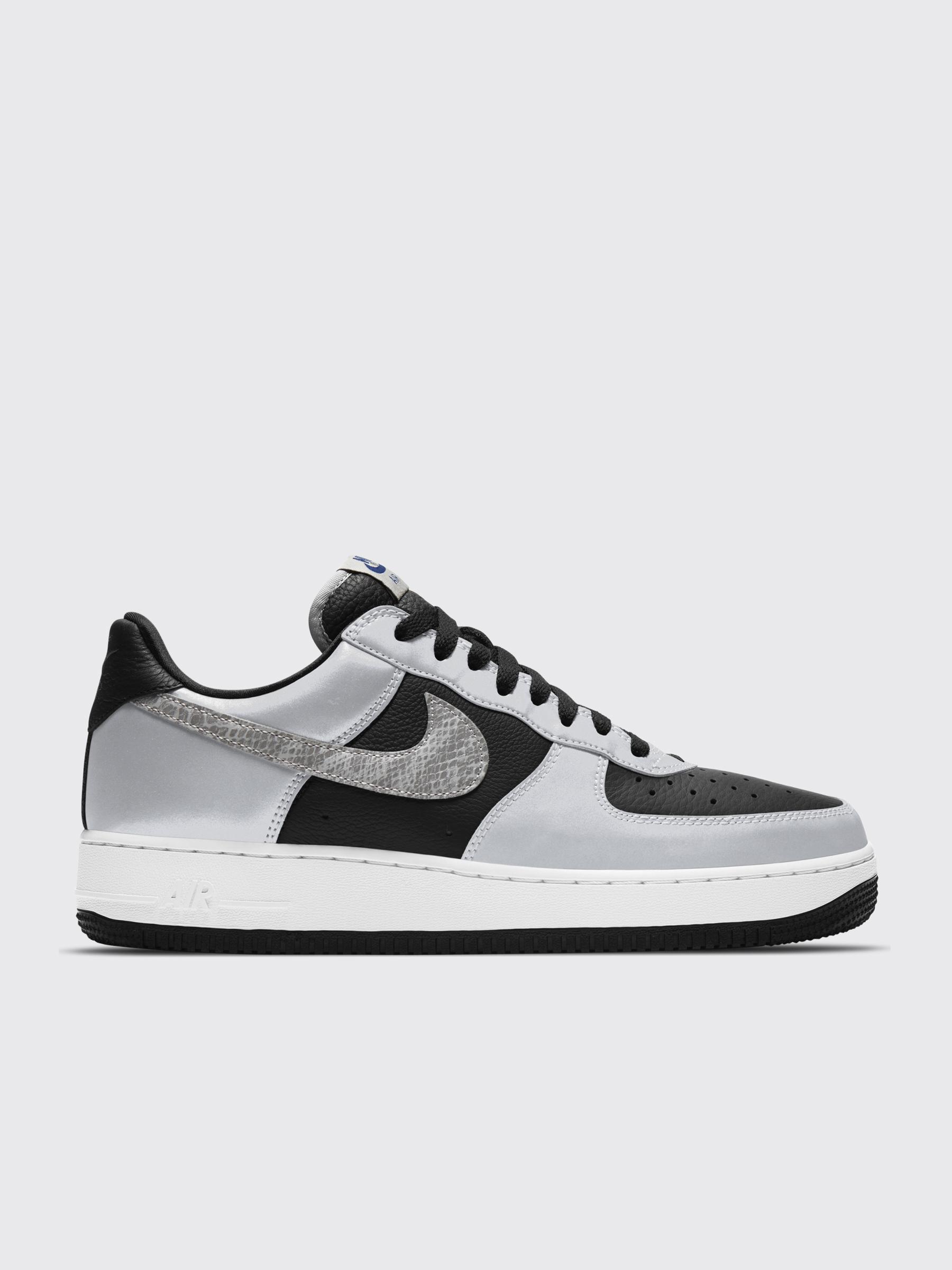 Très Bien - Nike Air Force 1 Low Black / Silver