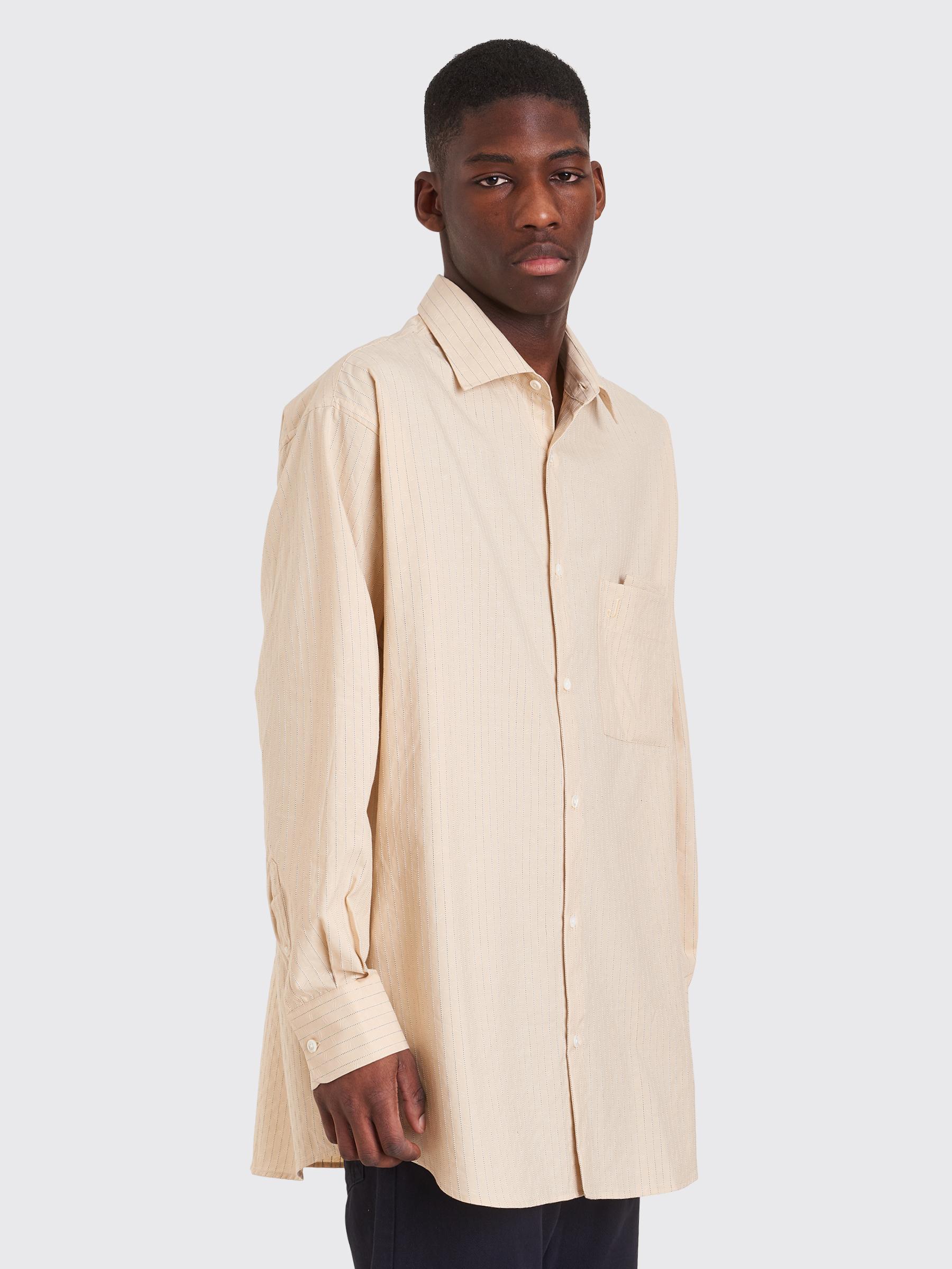 f223ed6d33 Très Bien - Jacquemus Large Shirt Beige / Brown