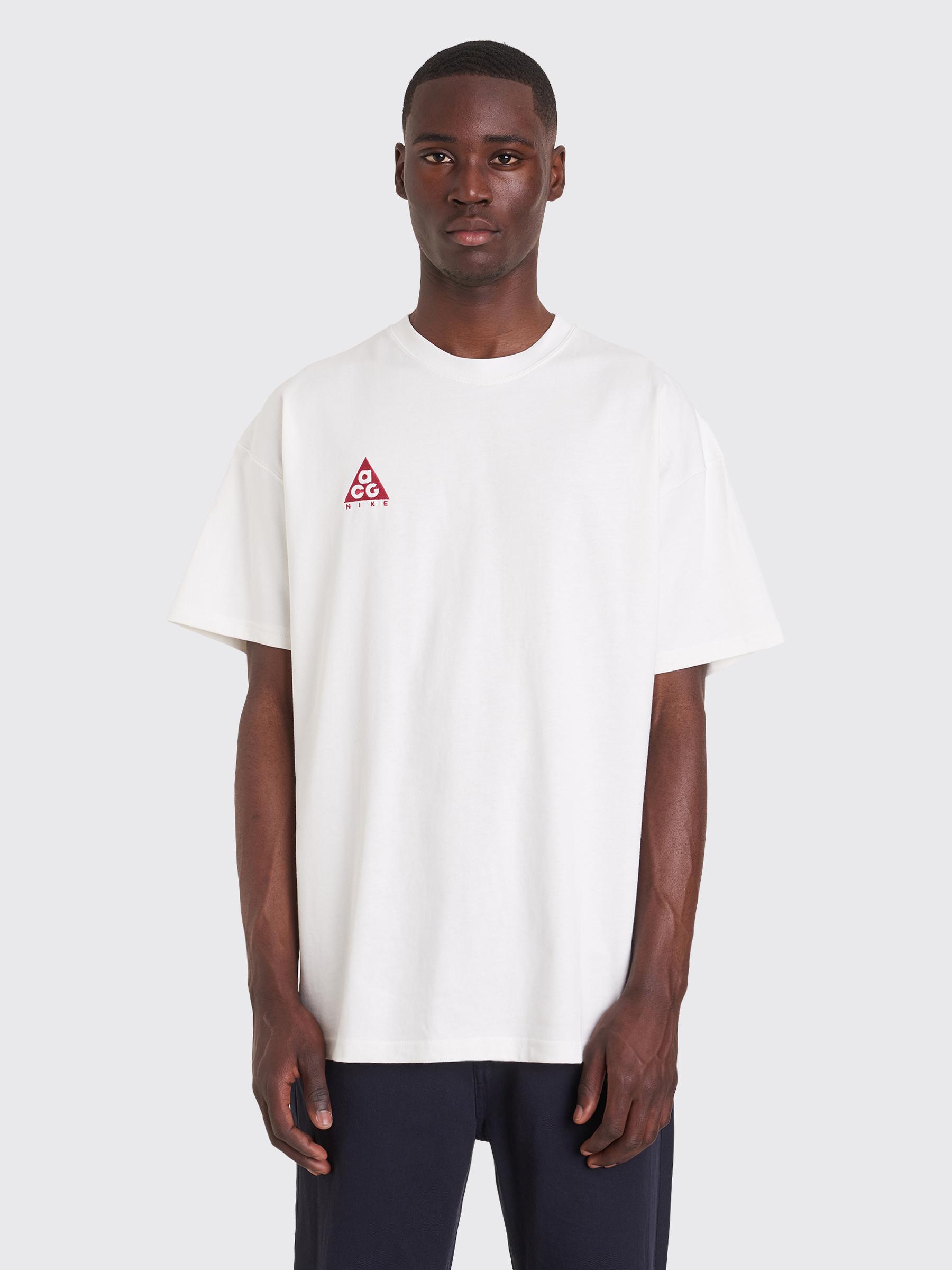 7ab0b8aa Très Bien - Nike ACG NRG Logo Short Sleeve T-shirt White