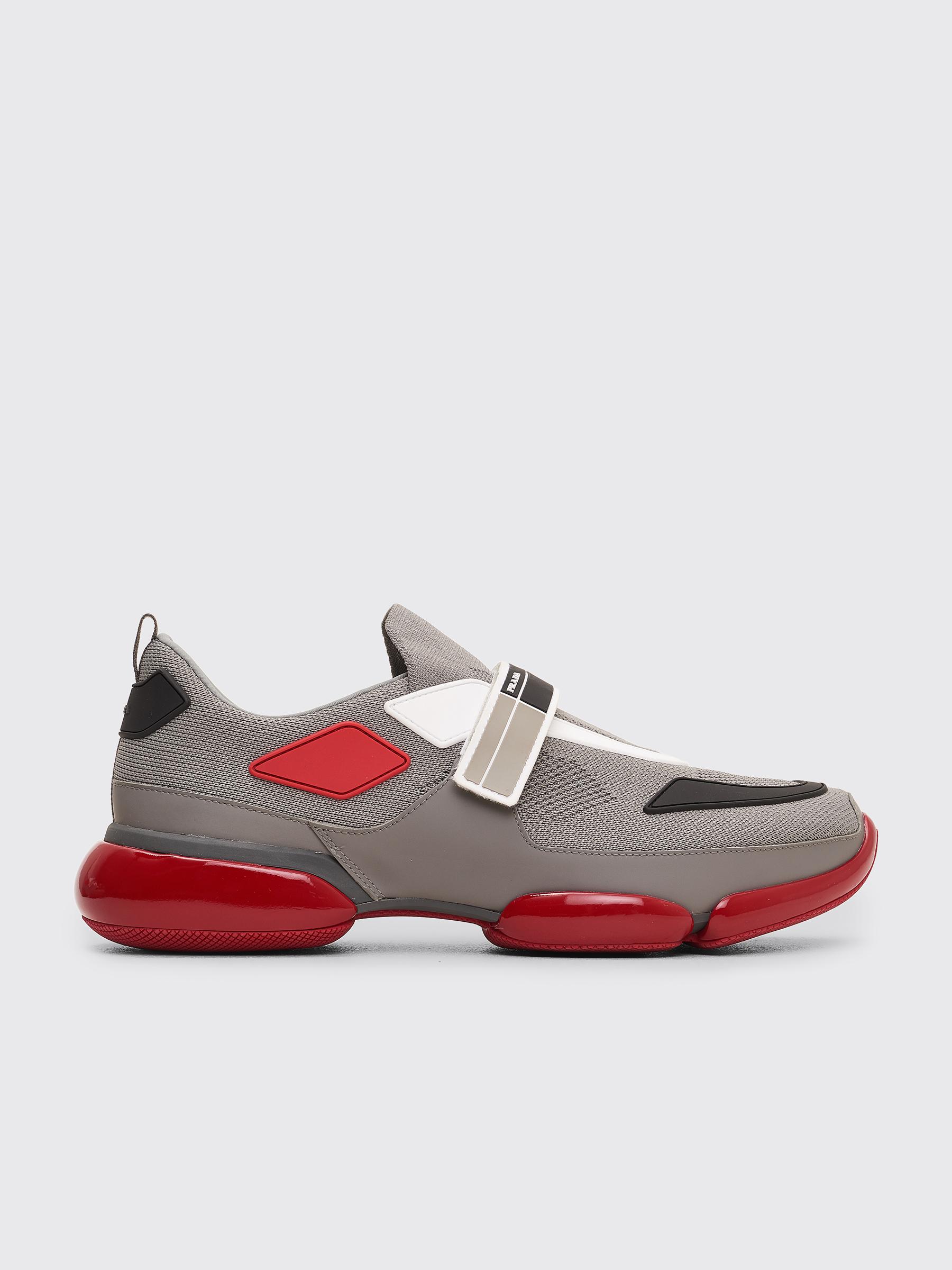 Acne Studios Red Cloudbust Sneakers 69MOKFyRIw