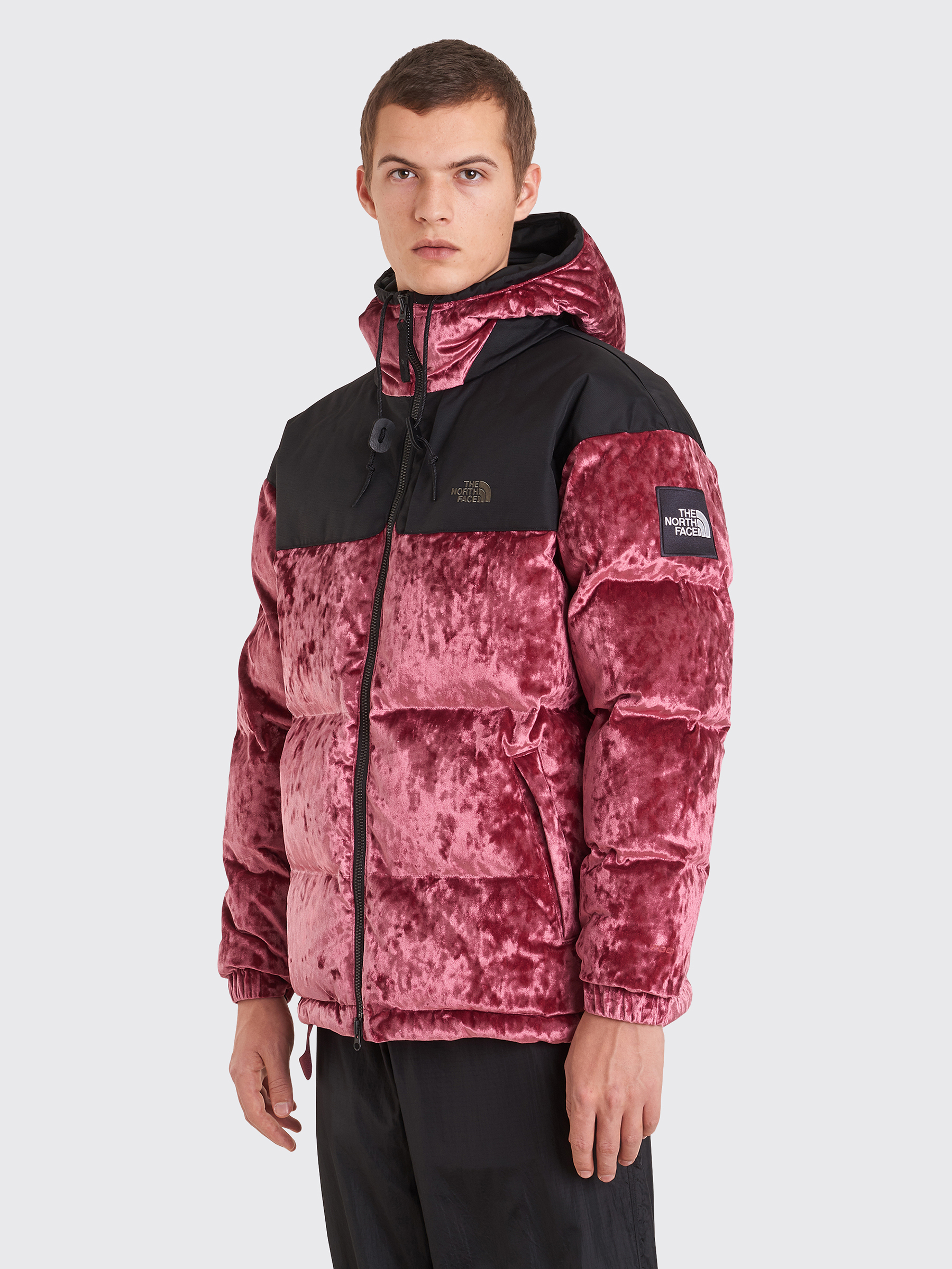 67fa9502a The North Face Black Series Velvet Nuptse Jacket Regal Red