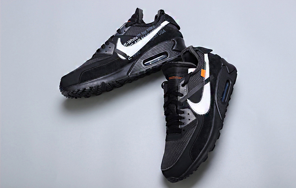 fbd1365596080 ... x Off-White The 10  Air Max 90 in two colorways have now re-opened.  Signups that were made on the original launch date have been saved